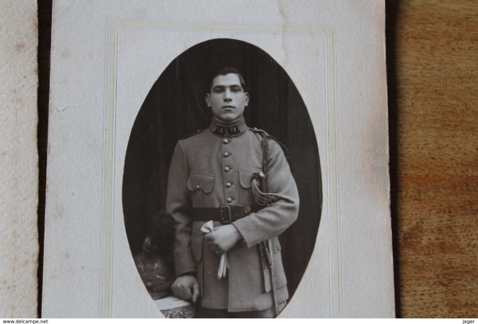 3 PHOTOS MILITAIRES CAVALERIE 1900 1920 - Guerra, Militares