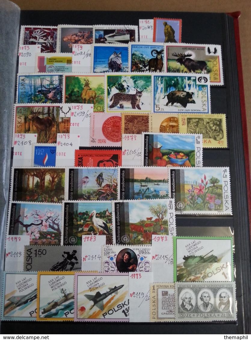 Lot N° T 736 POLOGNE Tres Bon Lot De Timbres Neufs** La Plupart - Colecciones (en álbumes)