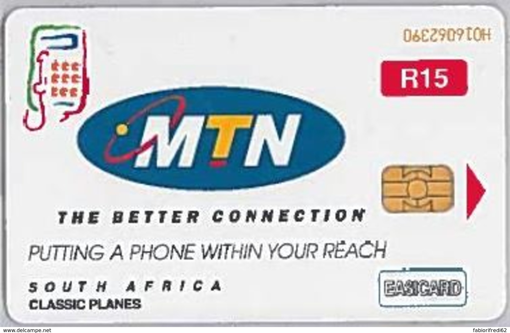 PHONE CARD-SUDAFRICA (E46.50.2 - Sudafrica