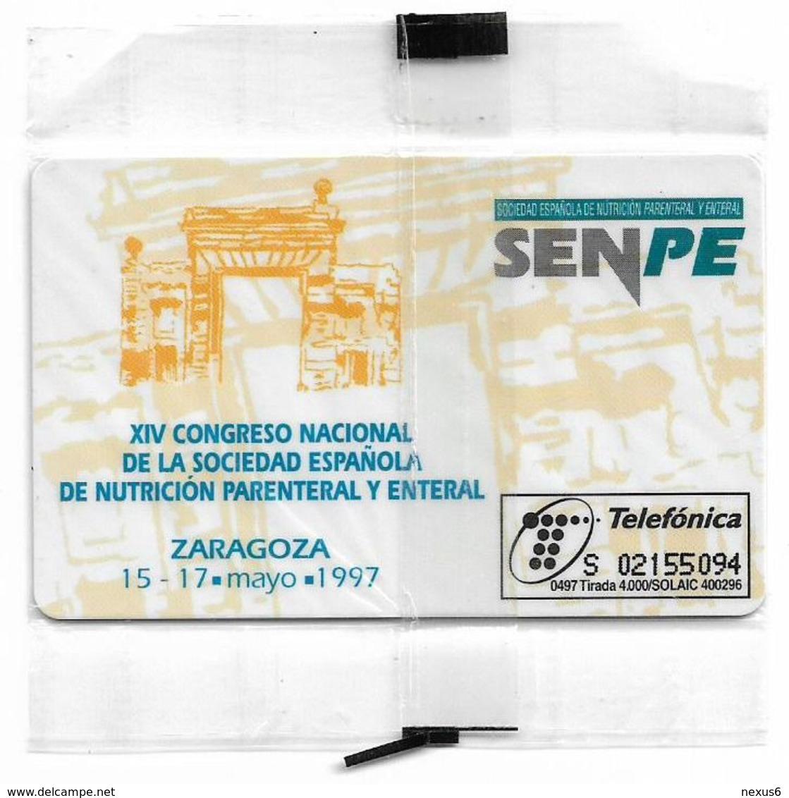 Spain - Telefónica - Clintec Baxter - P-260 - 04.1997, 500PTA, 4.000ex, NSB - España