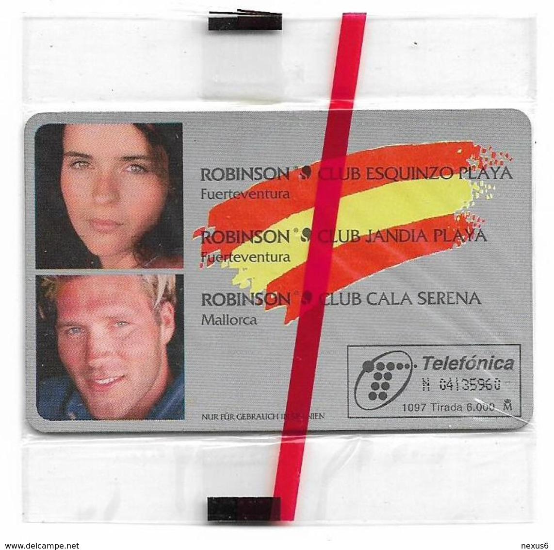 Spain - Telefónica - Club Robinson - P-298 - 10.1997, 500PTA, 6.000ex, NSB - España