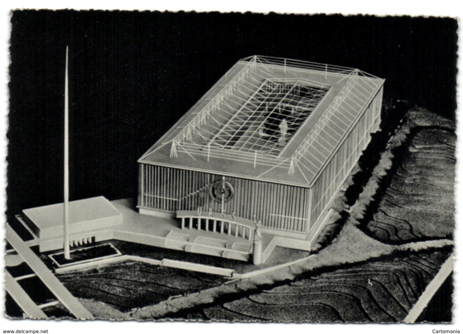 Exposition Universelle De Bruxelles 1958 - Pavillon De L'U.R.S.S. - Expositions Universelles