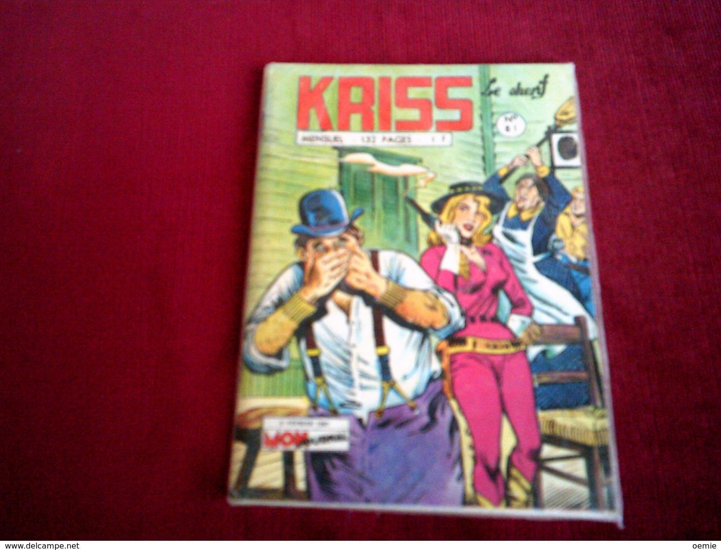 KRISS  No 81 - Non Classés