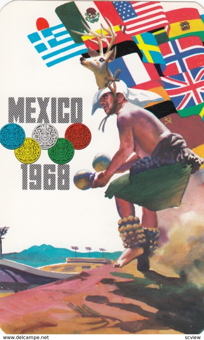 Olympic Games , Mexico City , 1968 ; Poster Art #1 - Olympic Games