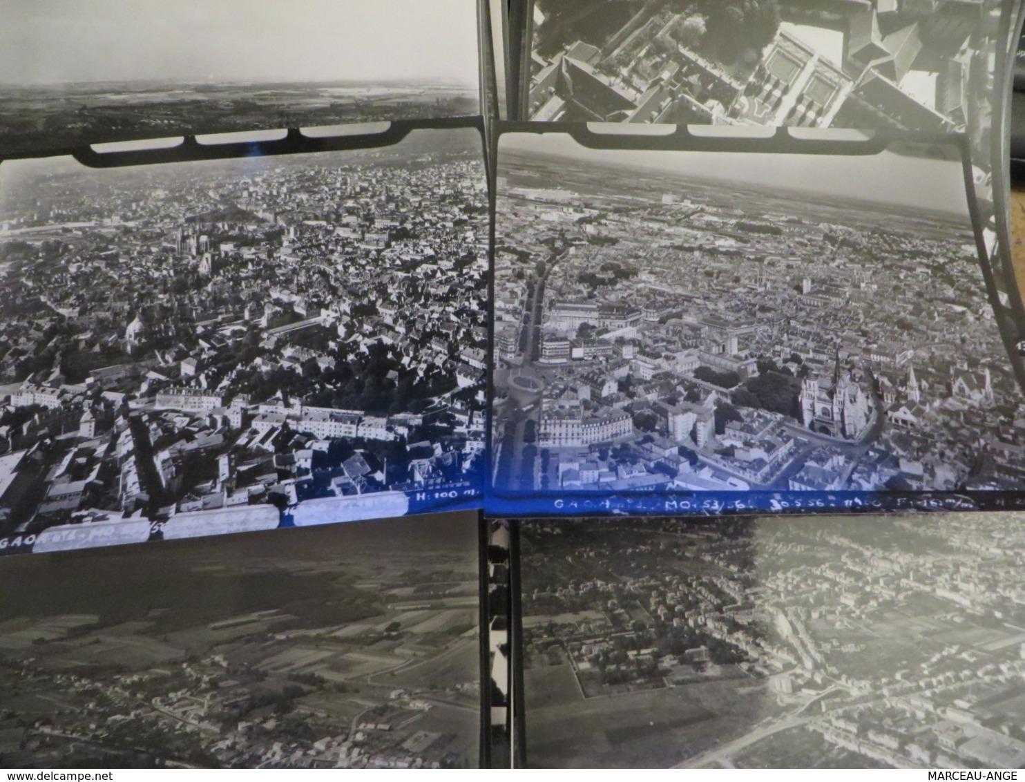 26 Photos ,prisent D'avion Une Date 25/8/55 Hauteur 500m - Lieux
