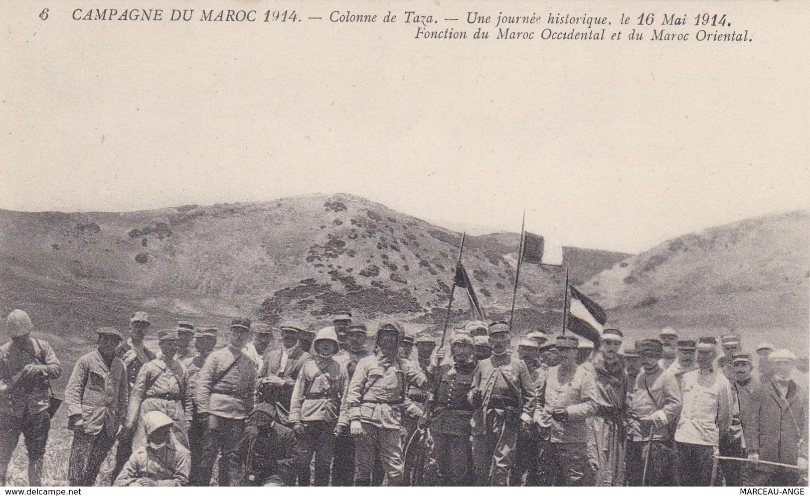 11 Cartes Campagne Du MAROC 1914 - Guerre 1914-18