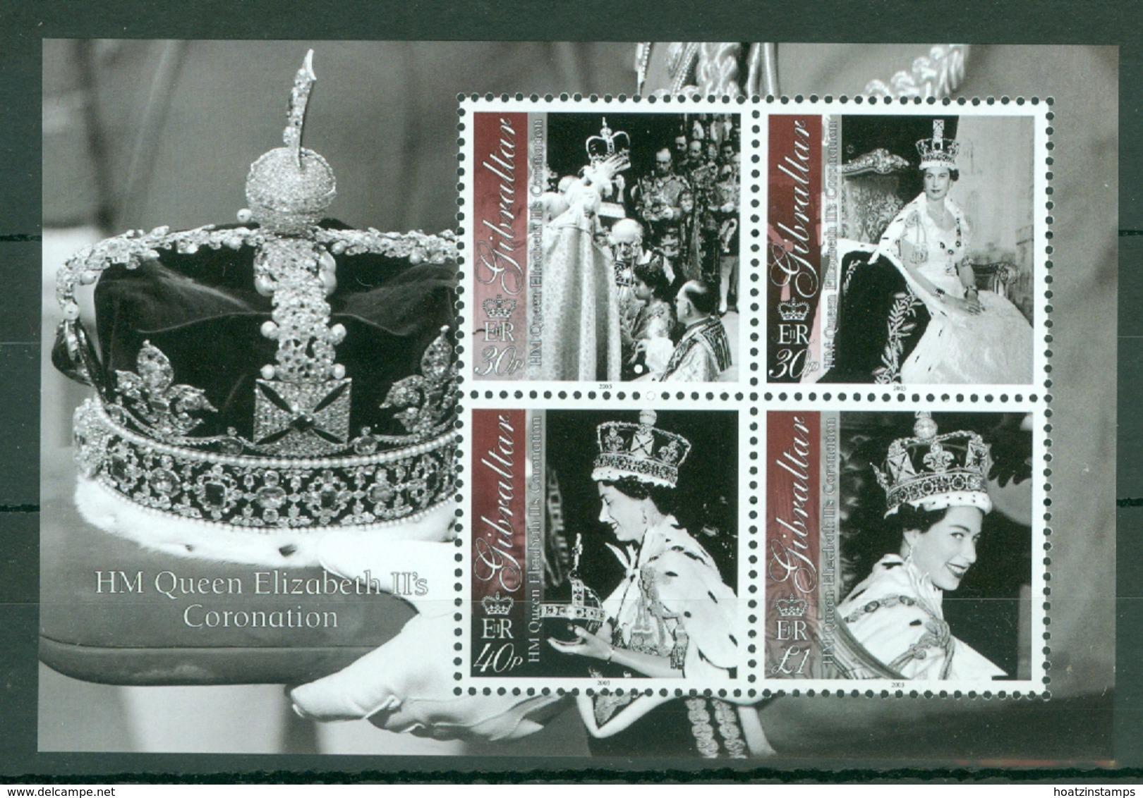 Gibraltar: 2003   50th Anniv Of Coronation  M/S  MNH - Gibilterra