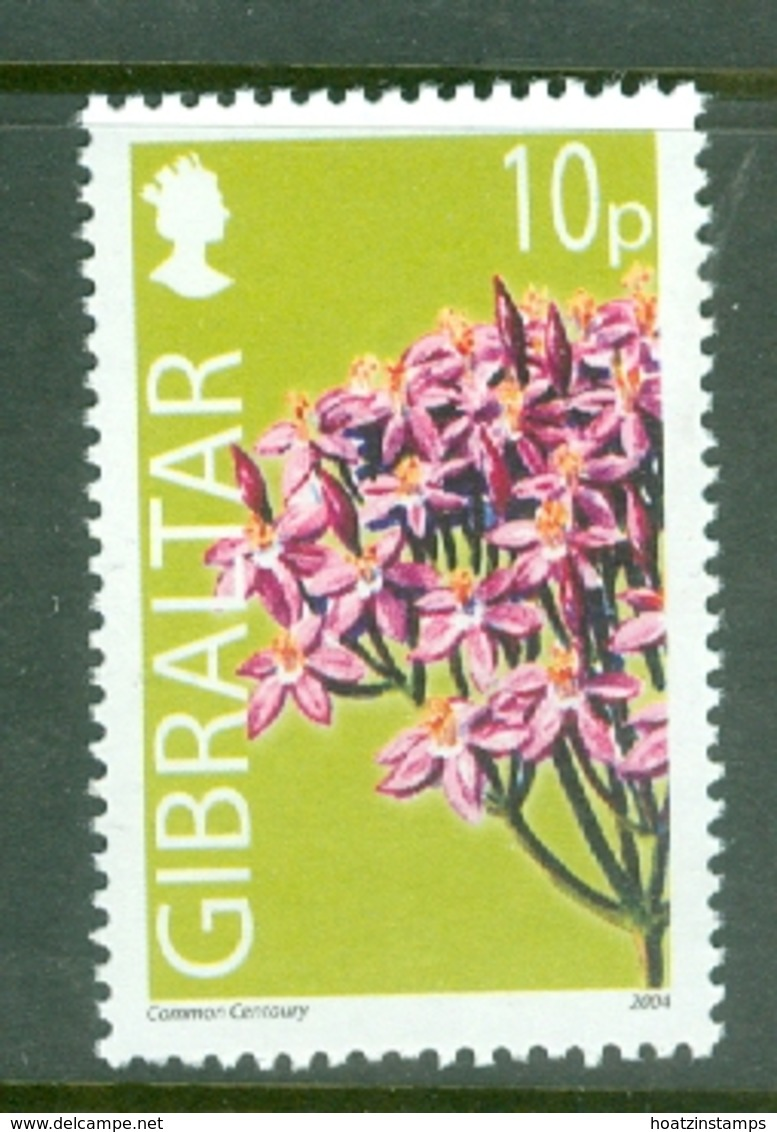 Gibraltar: 2004/06   Wild Flowers     SG1098   10p      MNH - Gibilterra