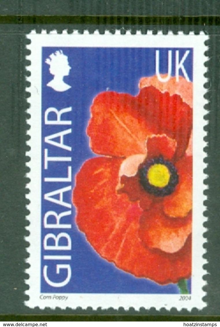 Gibraltar: 2004/06   Wild Flowers     SG1101   UK(38p)      MNH - Gibilterra