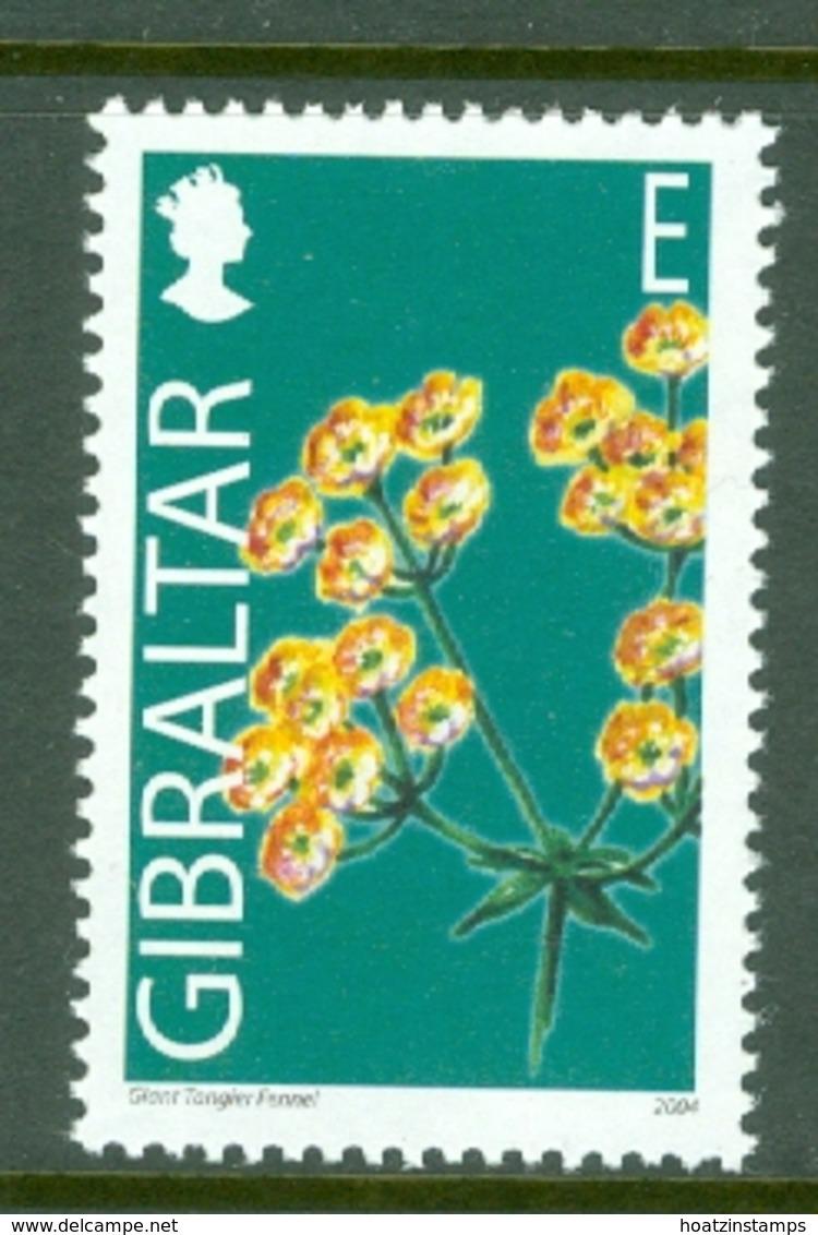 Gibraltar: 2004/06   Wild Flowers     SG1102   E(40p)      MNH - Gibilterra