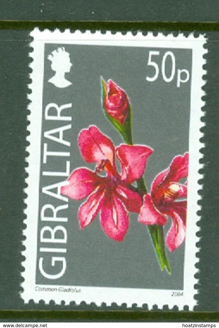 Gibraltar: 2004/06   Wild Flowers     SG1104   50p      MNH - Gibilterra