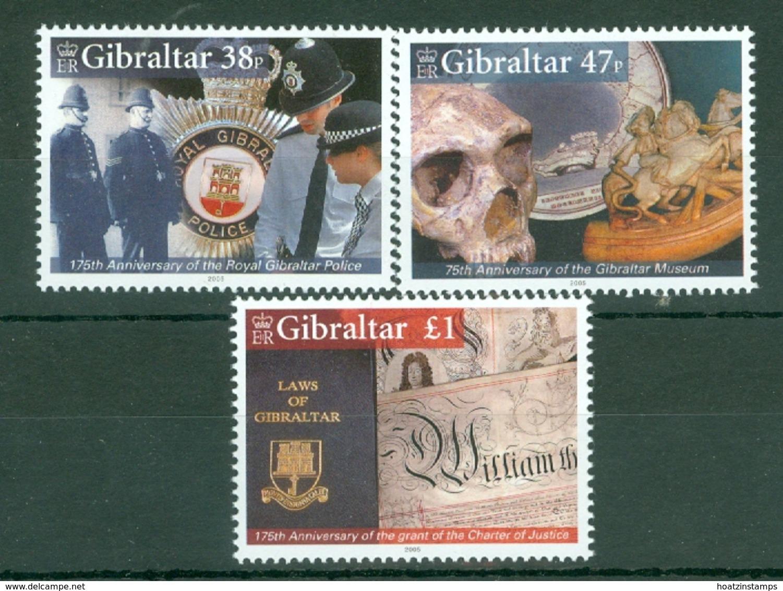 Gibraltar: 2005   Anniversaries   MNH - Gibilterra