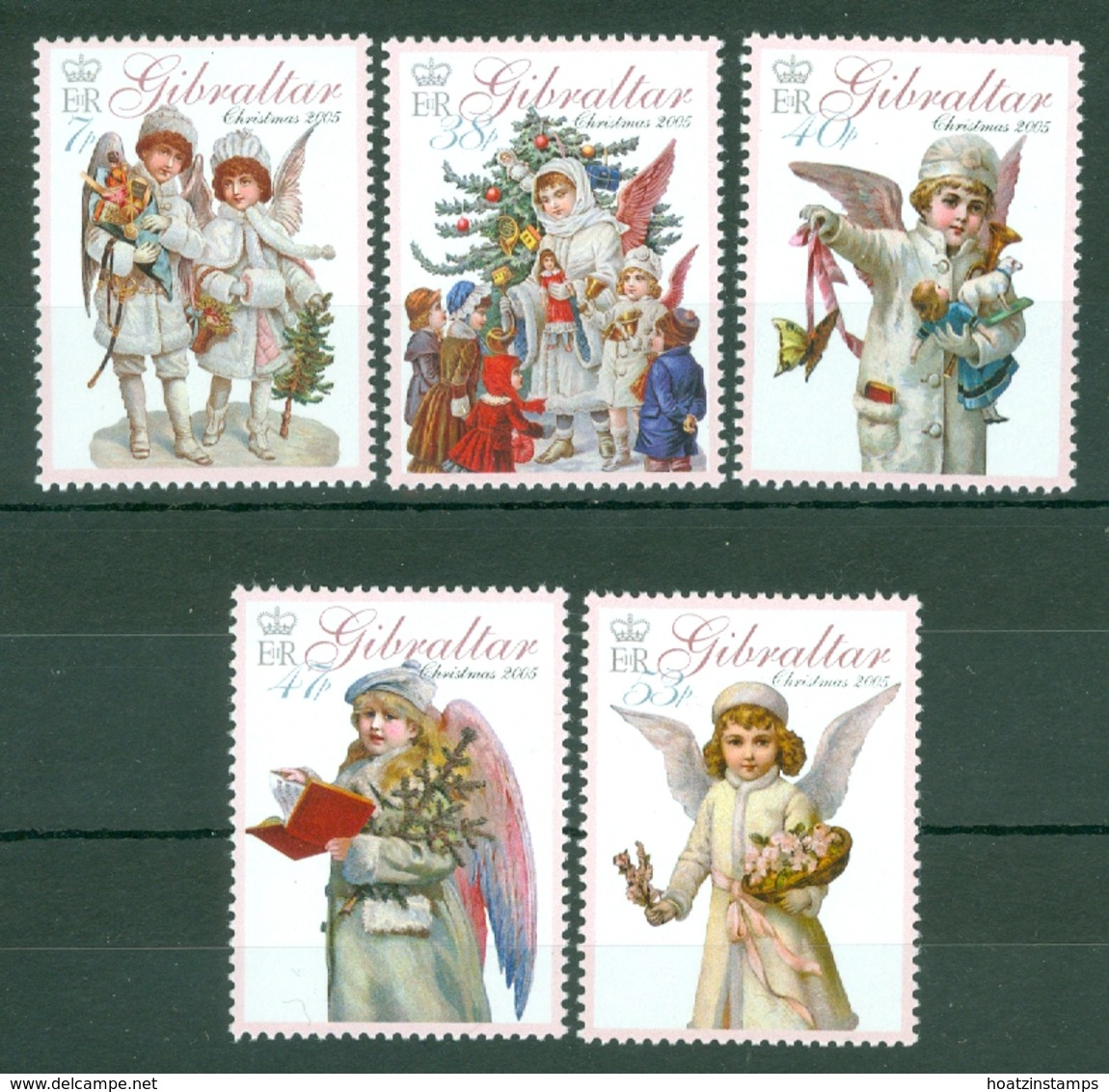Gibraltar: 2005   Christmas - Angels   MNH - Gibilterra