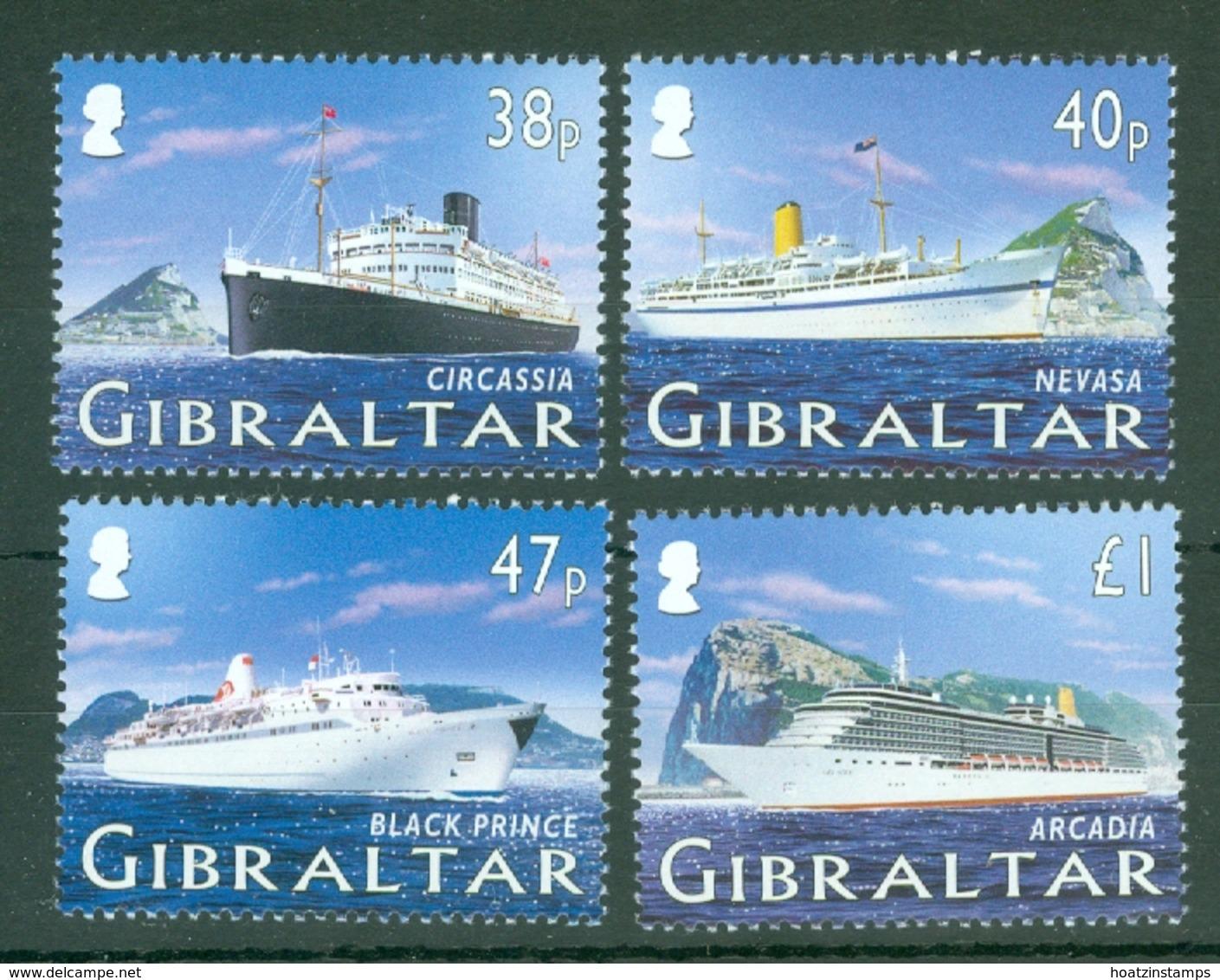 Gibraltar: 2005   Cruise Ships (Series 1)   MNH - Gibilterra