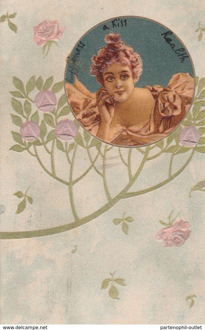 Cartolina  - Postcard /   Viaggiata - Sent /  Donnina - Donne