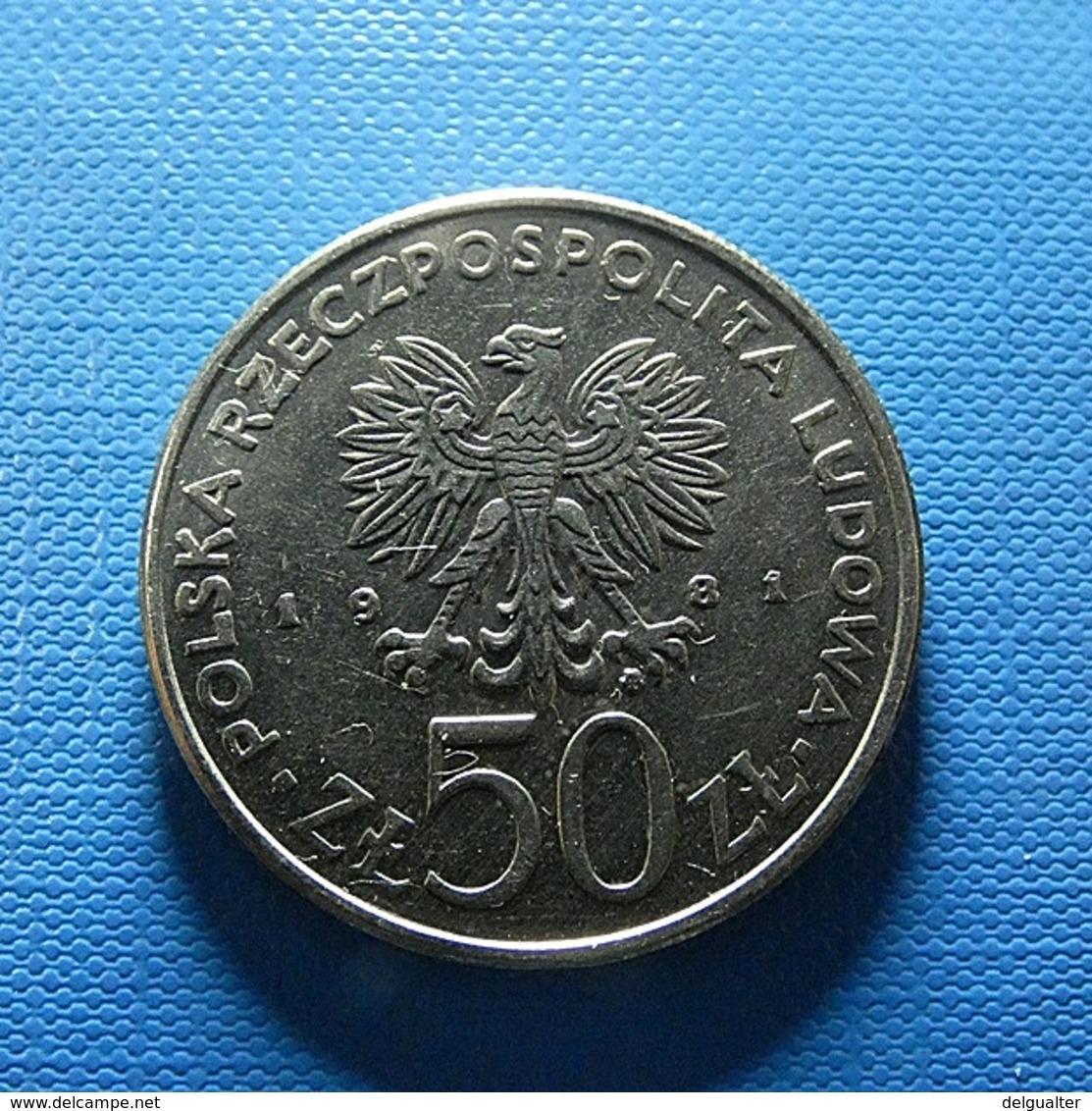 Poland 50 Zlotych 1981 FAO - Pologne
