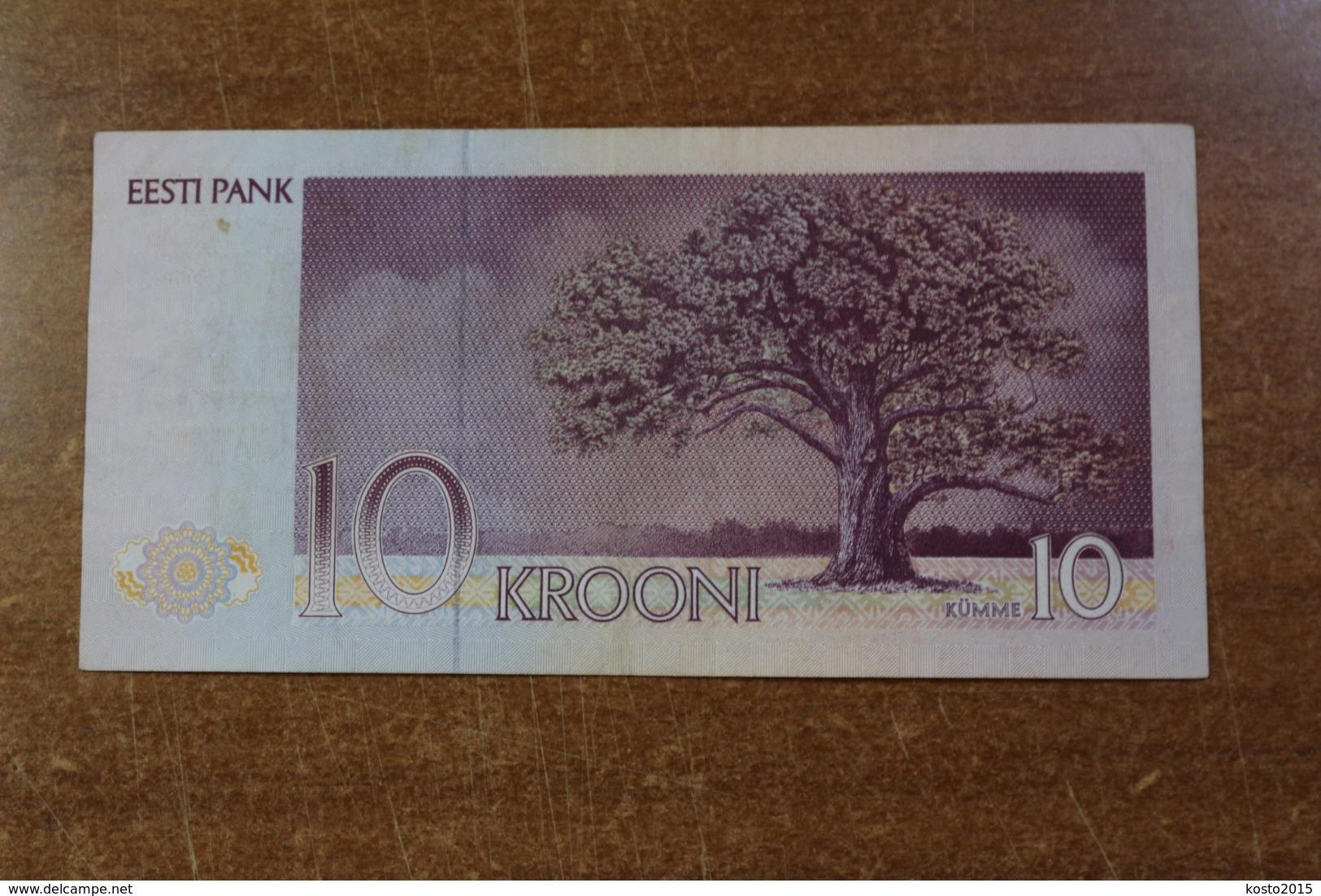 Estonia 10 Kroons 1991 UNC - Estland