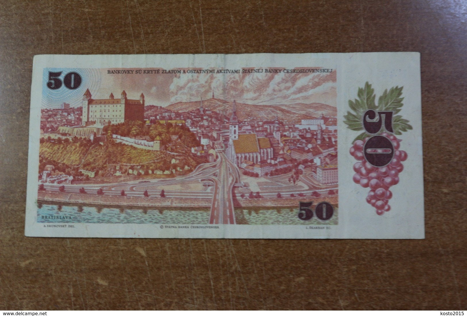 Czechoslovakia 50 Crowns 1987 - Tsjechoslowakije