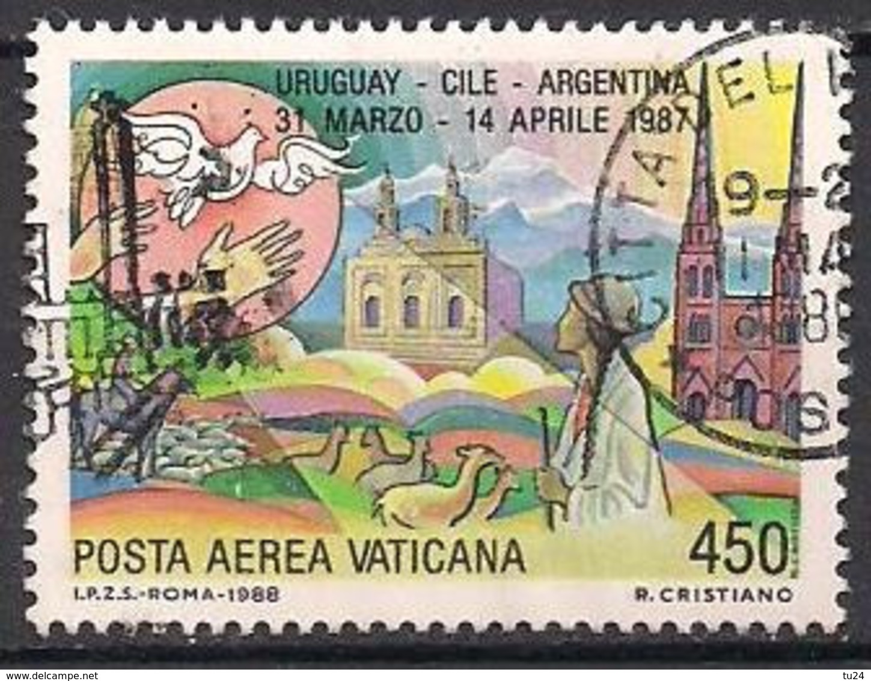 Vatikan  (1988)  Mi.Nr.  952  Gest. / Used  (9fk03) - Vaticaanstad