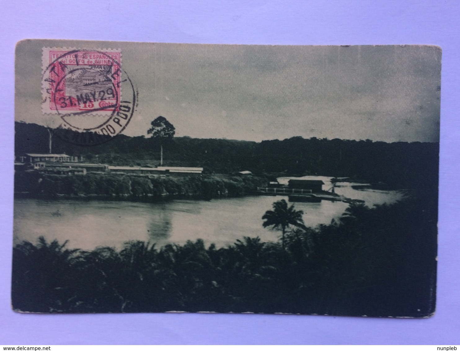 EQUATORIAL GUINEA - Vista General De Cabo San Juan - Pabellon Colonial En La Exposicion Ibero-Americana Sevilla 1929 - Equatorial Guinea
