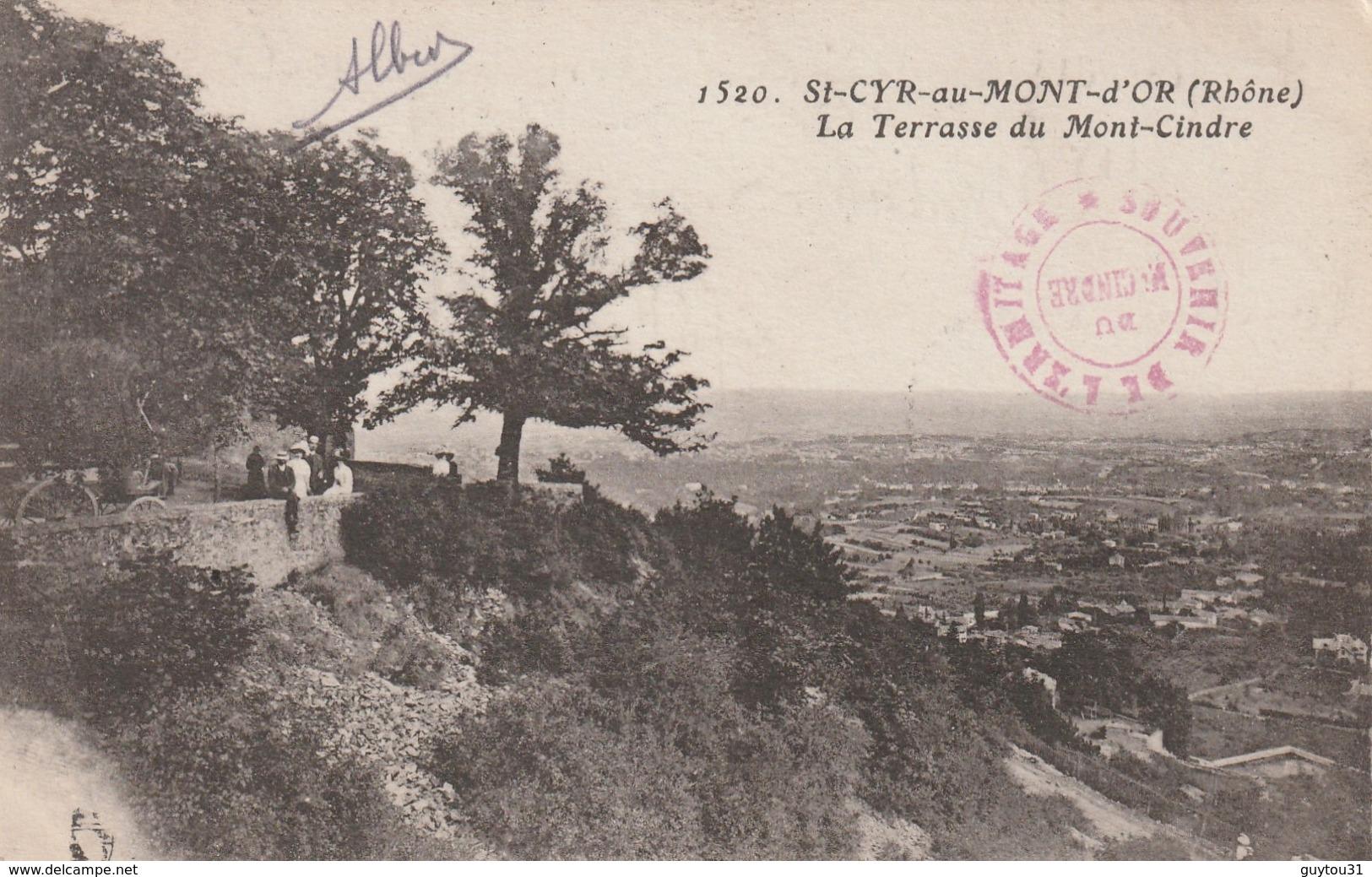 69 Rhône : Saint- Cyr Au Mont D'Or La Terrasse Du Mont Cindre - France