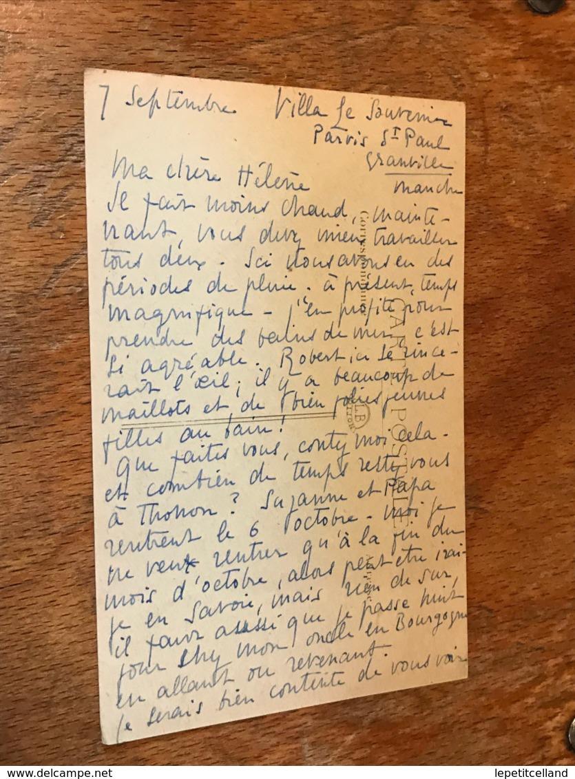 Carte Postale Ancienne CPA Port De Granville Normandie - Torpilleurs Dans Le Grand Bassin - Ausrüstung