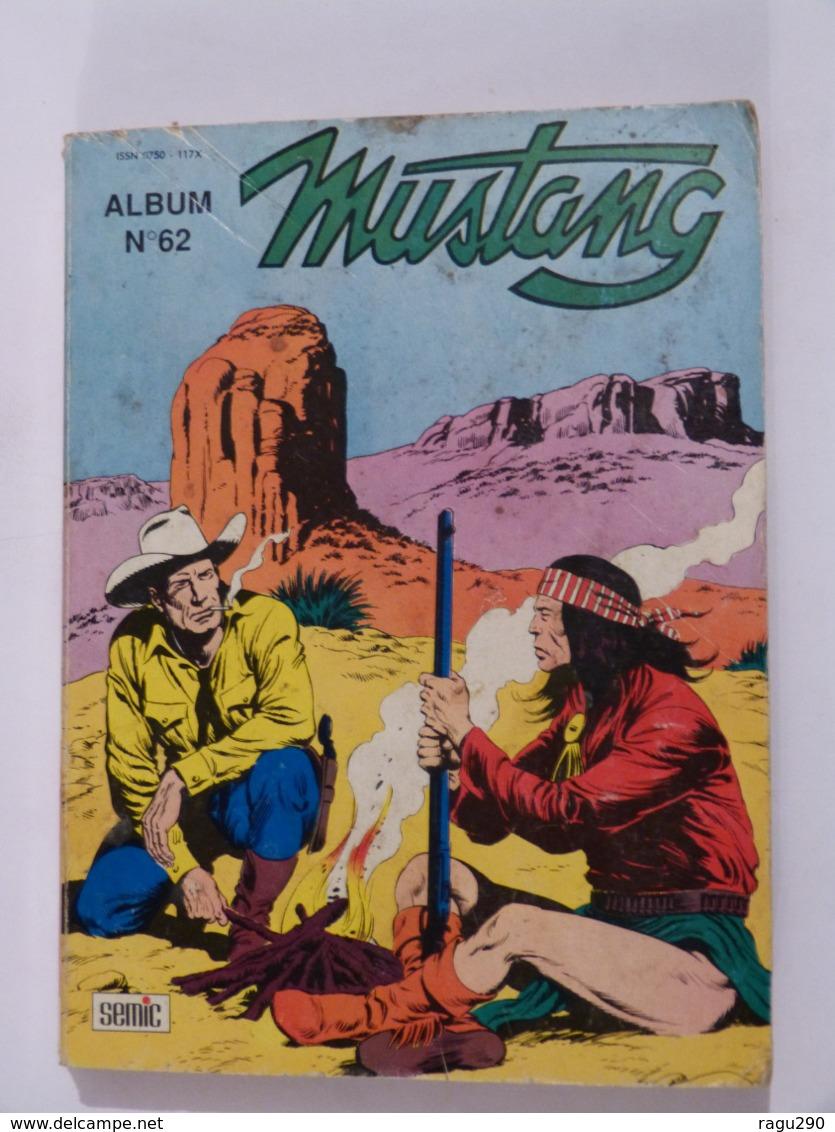 BD  ---     MUSTANG  Album   N° 62 Avec  TEX WILLER - Magazines Et Périodiques