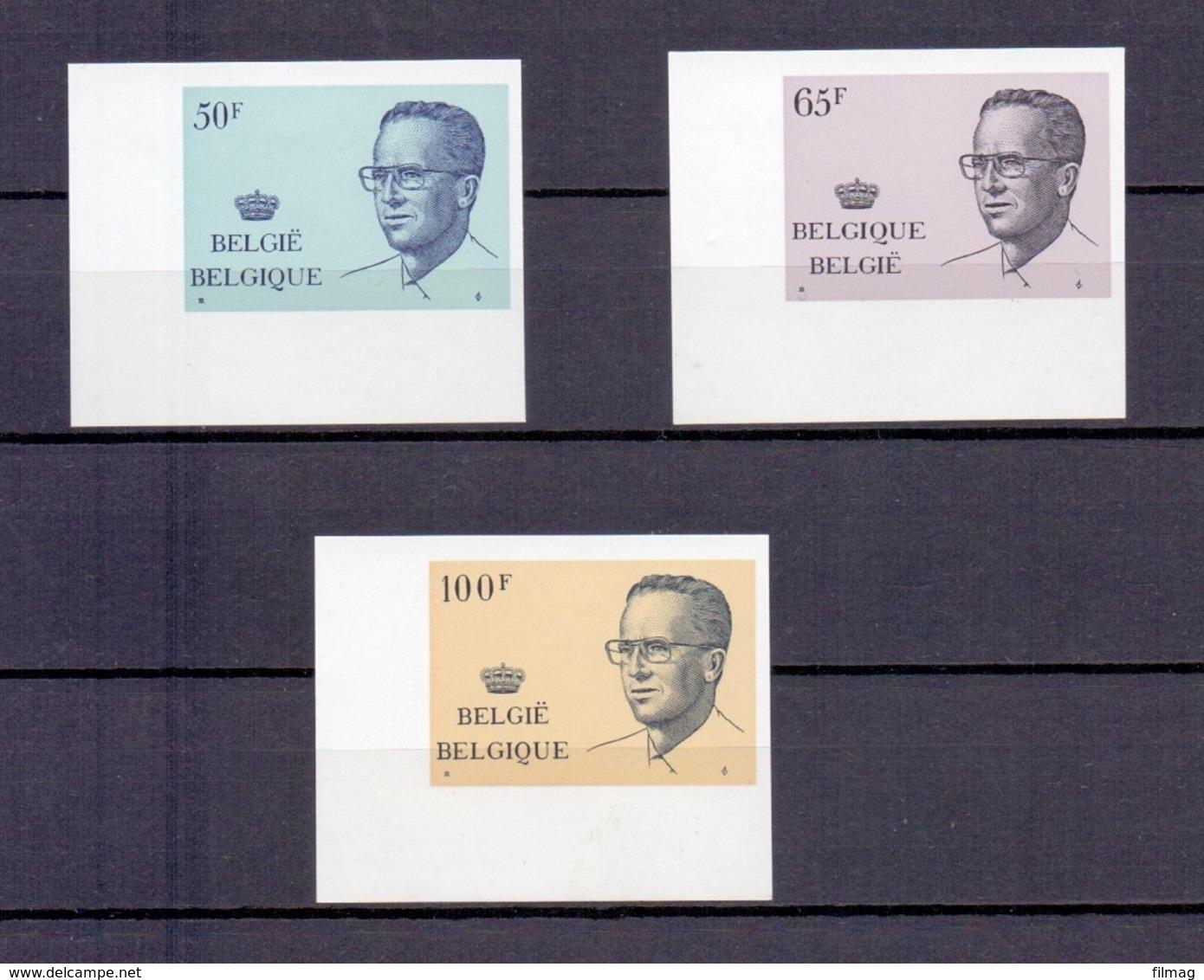 2022/24 KONING BOUDEWIJN MET BRIL ONGETAND POSTFRIS**  1981 CAT:100 Euro - Belgique
