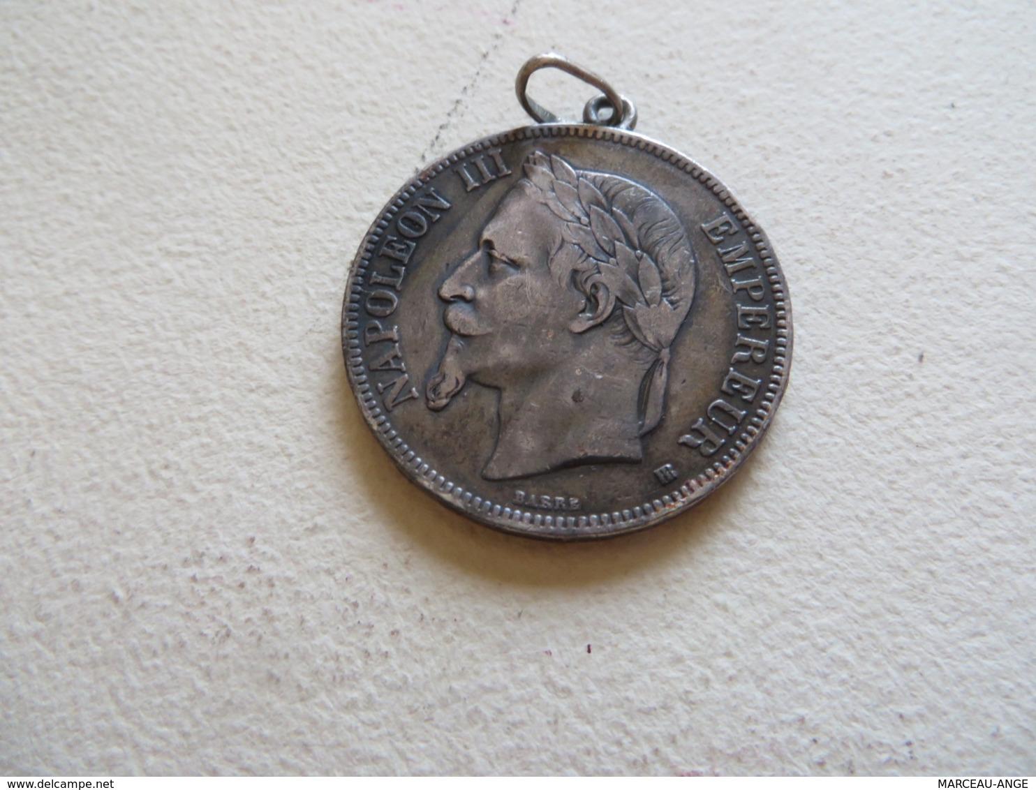 5 Francs NAPOLEON III ,EMPIRE FRANCAIS - J. 5 Francs