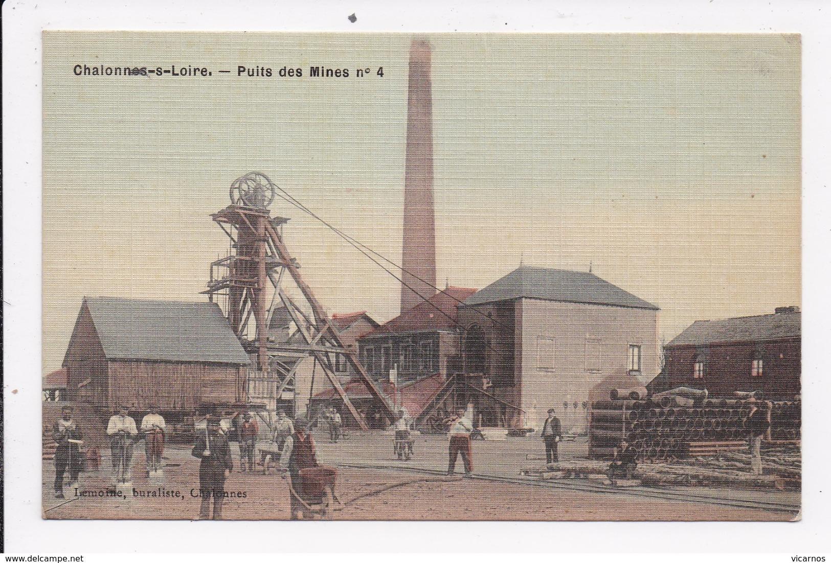 CP 49 CHALONNES SUR LOIRE Puits Des Mines N°4 - Chalonnes Sur Loire