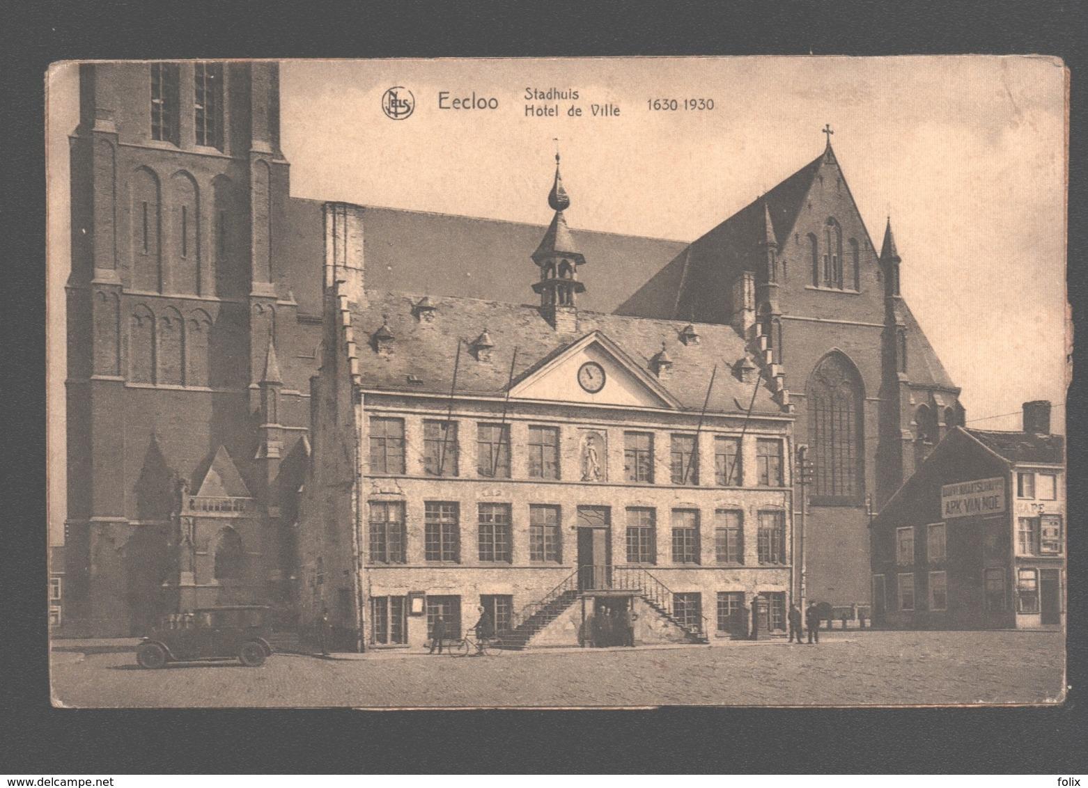 Eeklo / Eecloo - Stadhuis - 1630-1930 - Café - Eeklo