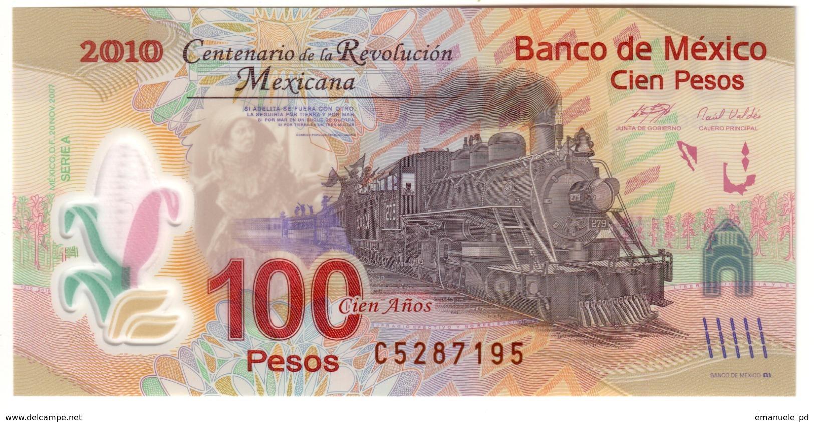 Mexico 100 Pesos 20/11/2007 UNC .PL. - Mexico