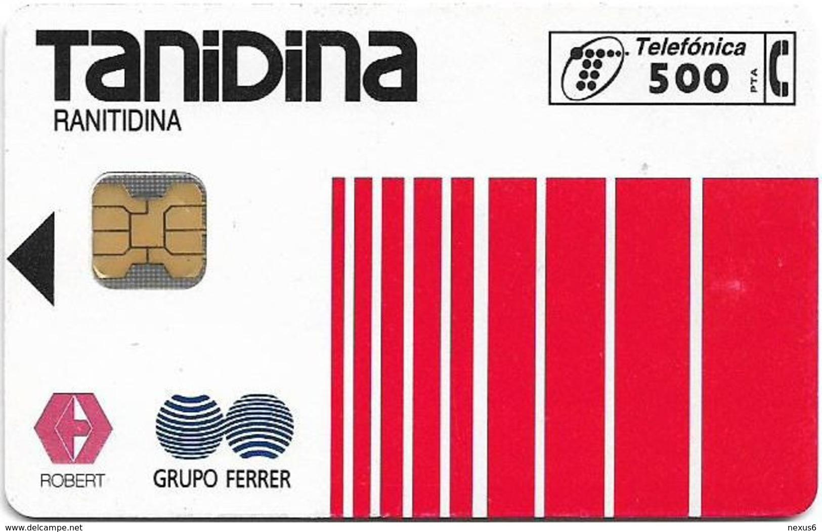 Spain - Telefónica - Tanidina - P-137 - 06.1995, 6.500ex, Used - España