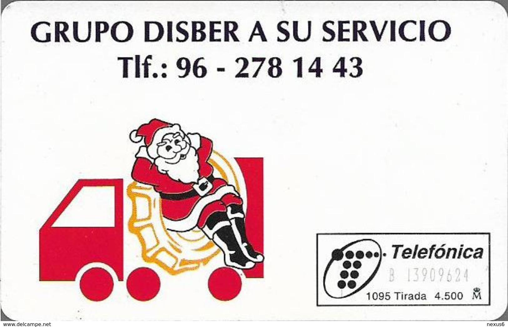Spain - Telefónica - Grupo Disber - P-154 - 10.1995, 4.500ex, Used - España