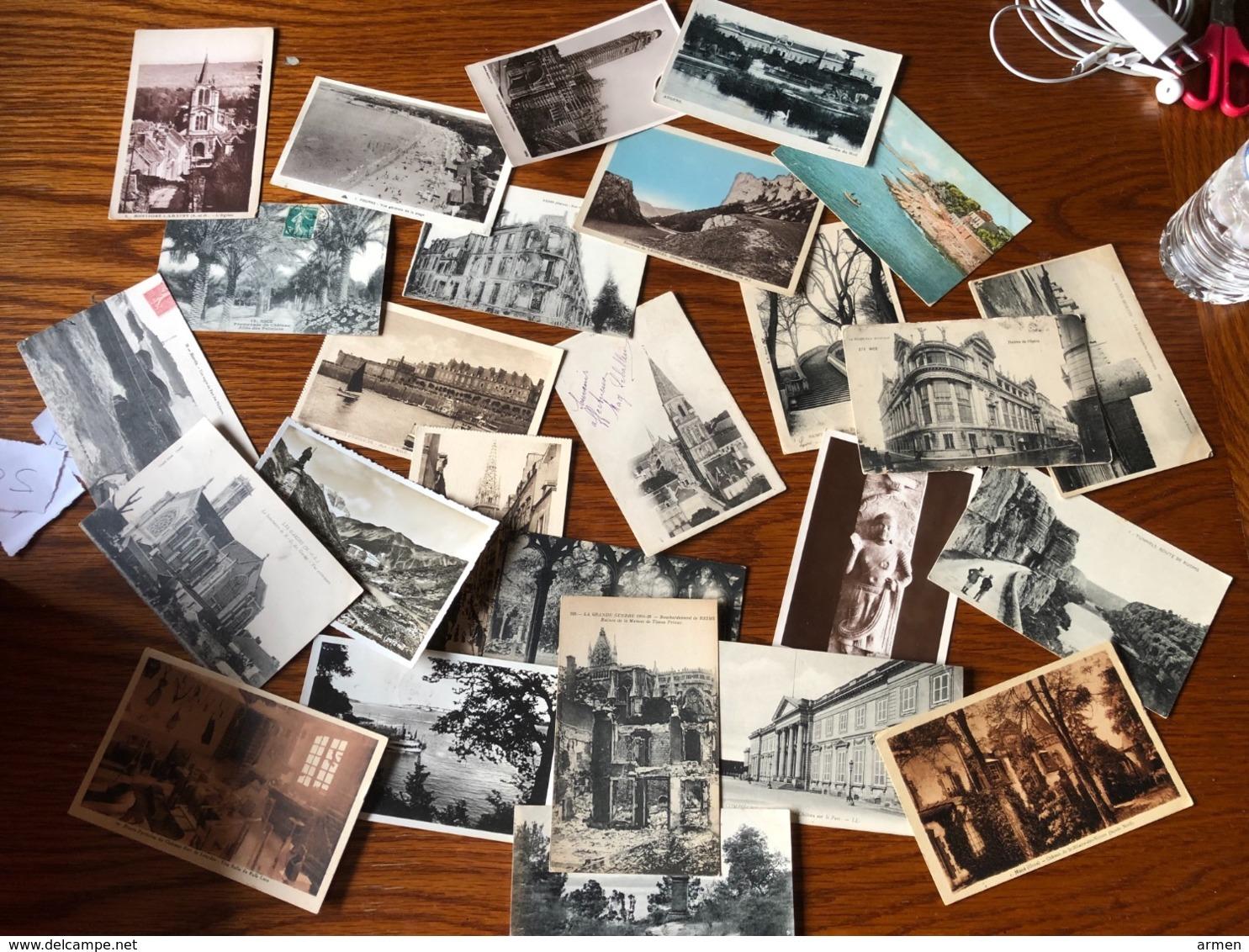 1 - CPA + 700 CPA Types Petite Drouilles  Animées Grandes Villes Dept.03 06 25 - 29  45 -38  57 78  72 -54- 66 67 94 - Postcards