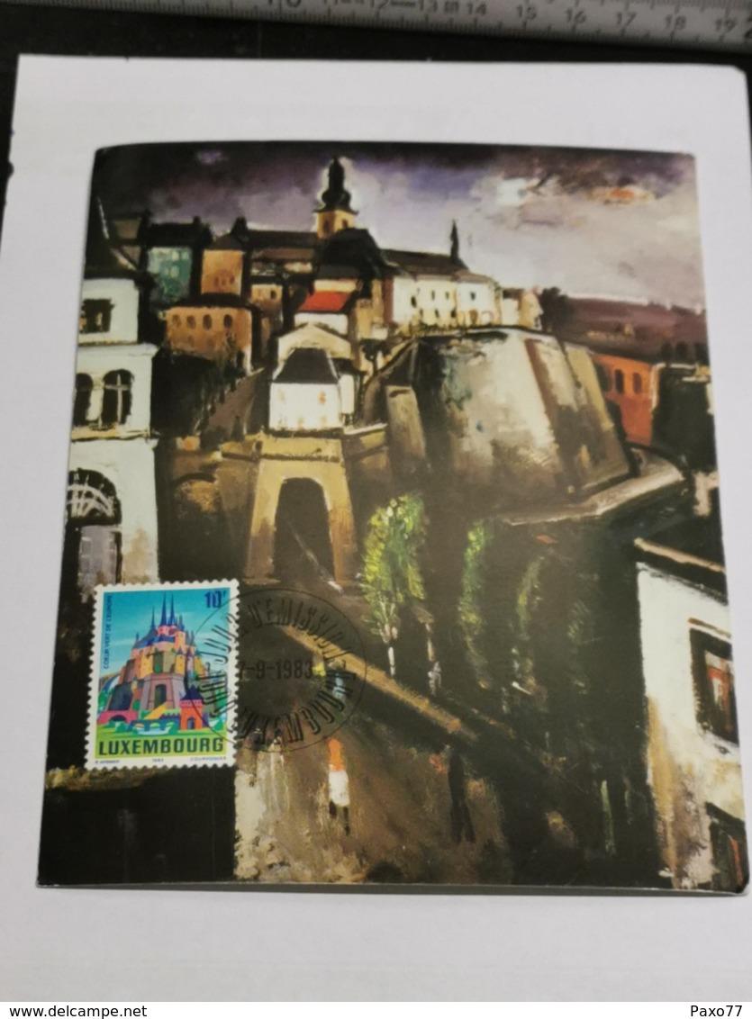Luxembourg, Joseph Kutter - Maximum Cards