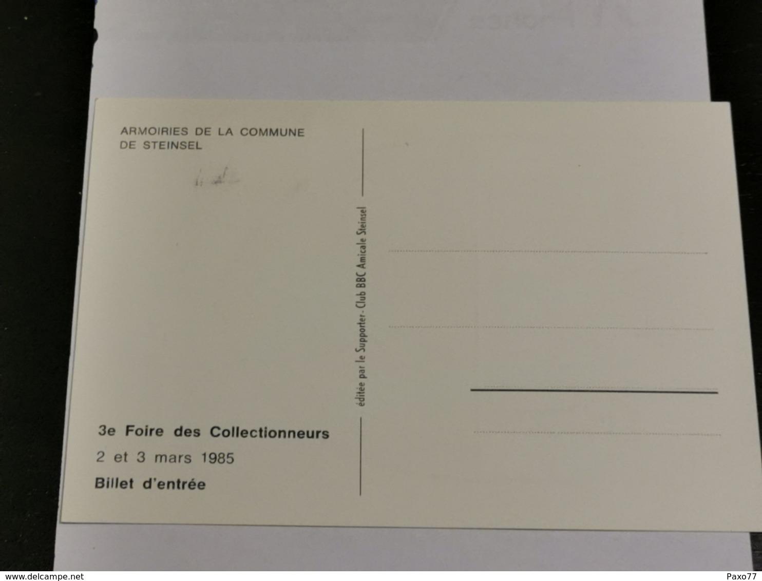 Luxembourg, Commune De Steinsel - Maximum Cards
