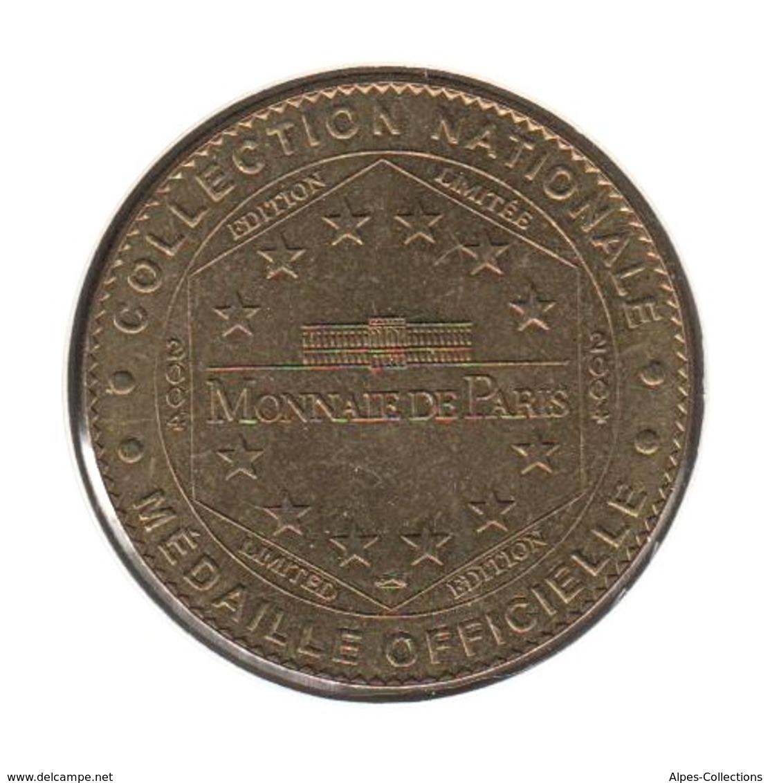 59001 - MEDAILLE TOURISTIQUE MONNAIE DE PARIS 59 - Centre Historique Minier - 2004 - Monnaie De Paris