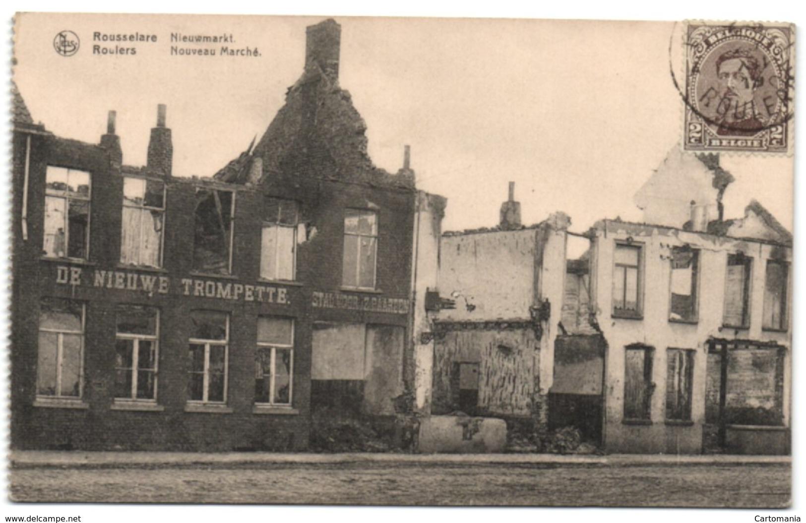 Rousselare - Nieuwmarkt - Roeselare