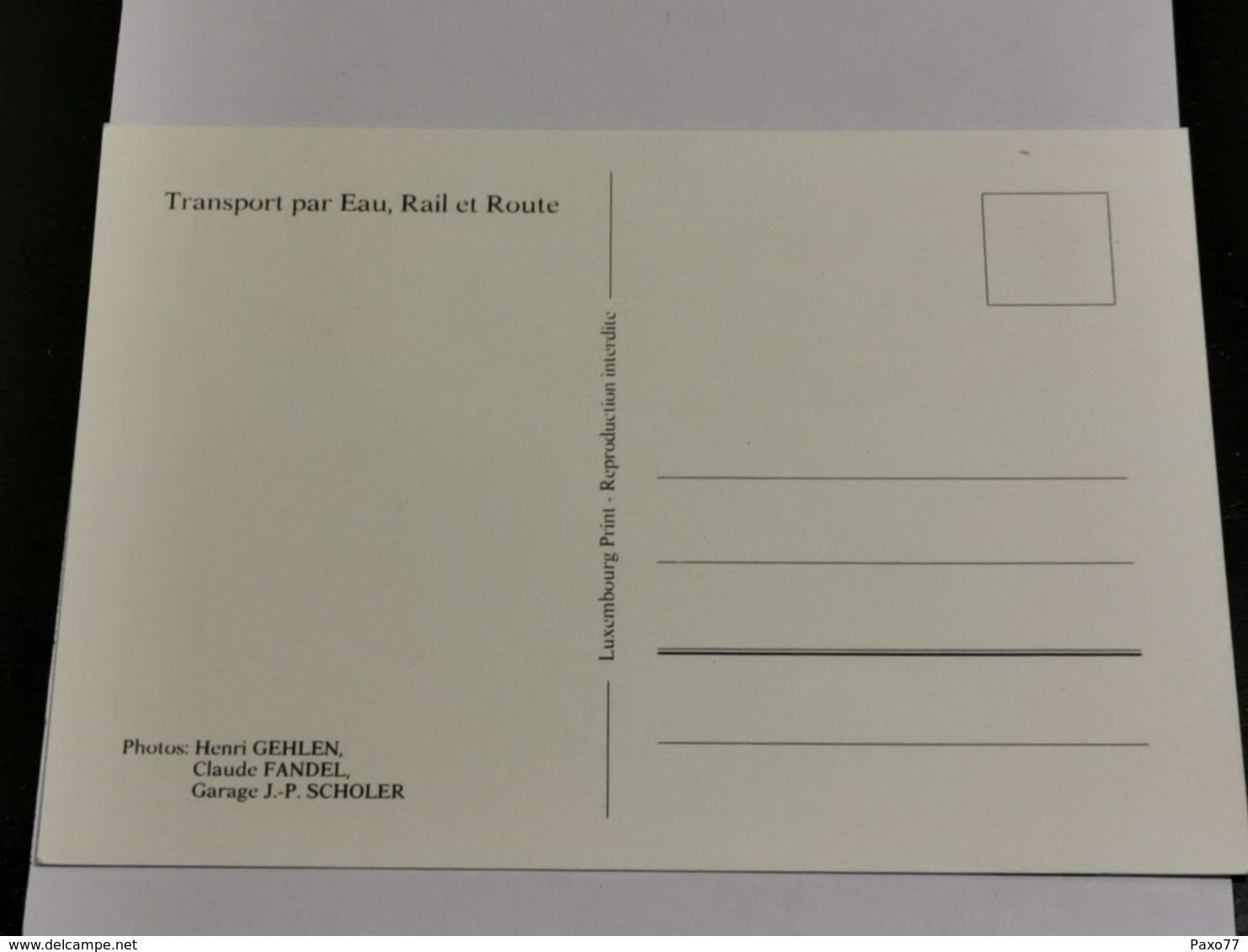 Luxembourg, Transport Par Eau, Rail Et Route - Maximum Cards