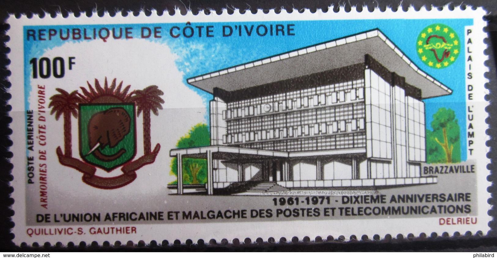 COTE D'IVOIRE                   P.A 53                    NEUF** - Côte D'Ivoire (1960-...)