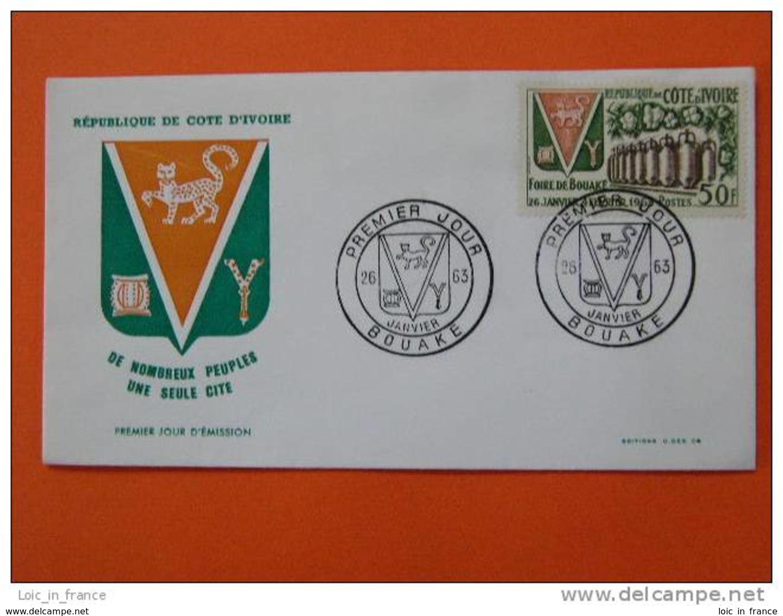 FDC Cote D'Ivoire Ivory Coast Foire De Bouake Coton Cotton - Côte D'Ivoire (1960-...)