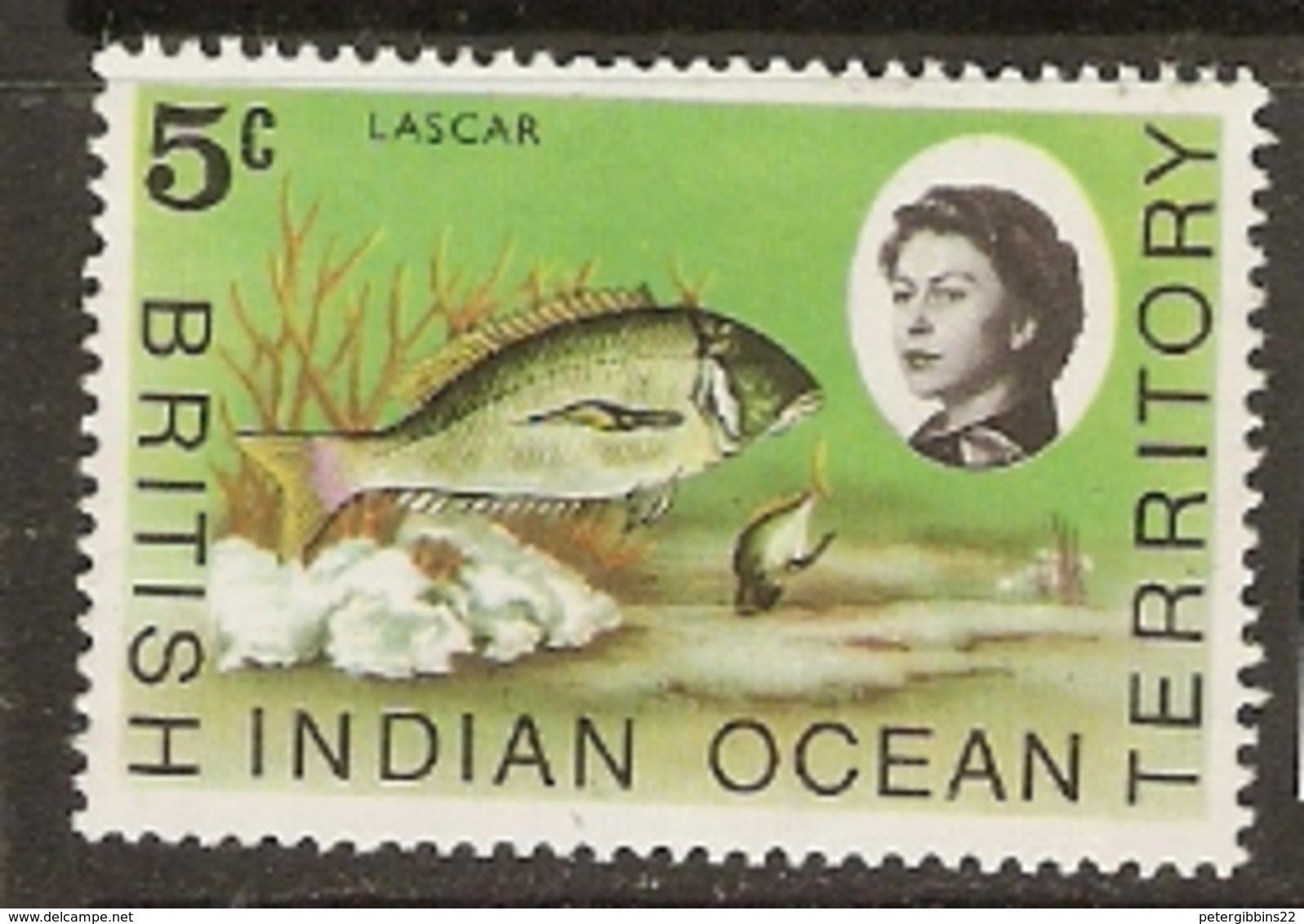 British Indian Ocean Territory   1968   SG  16  Lascar    Unnmounted Mint - British Indian Ocean Territory (BIOT)