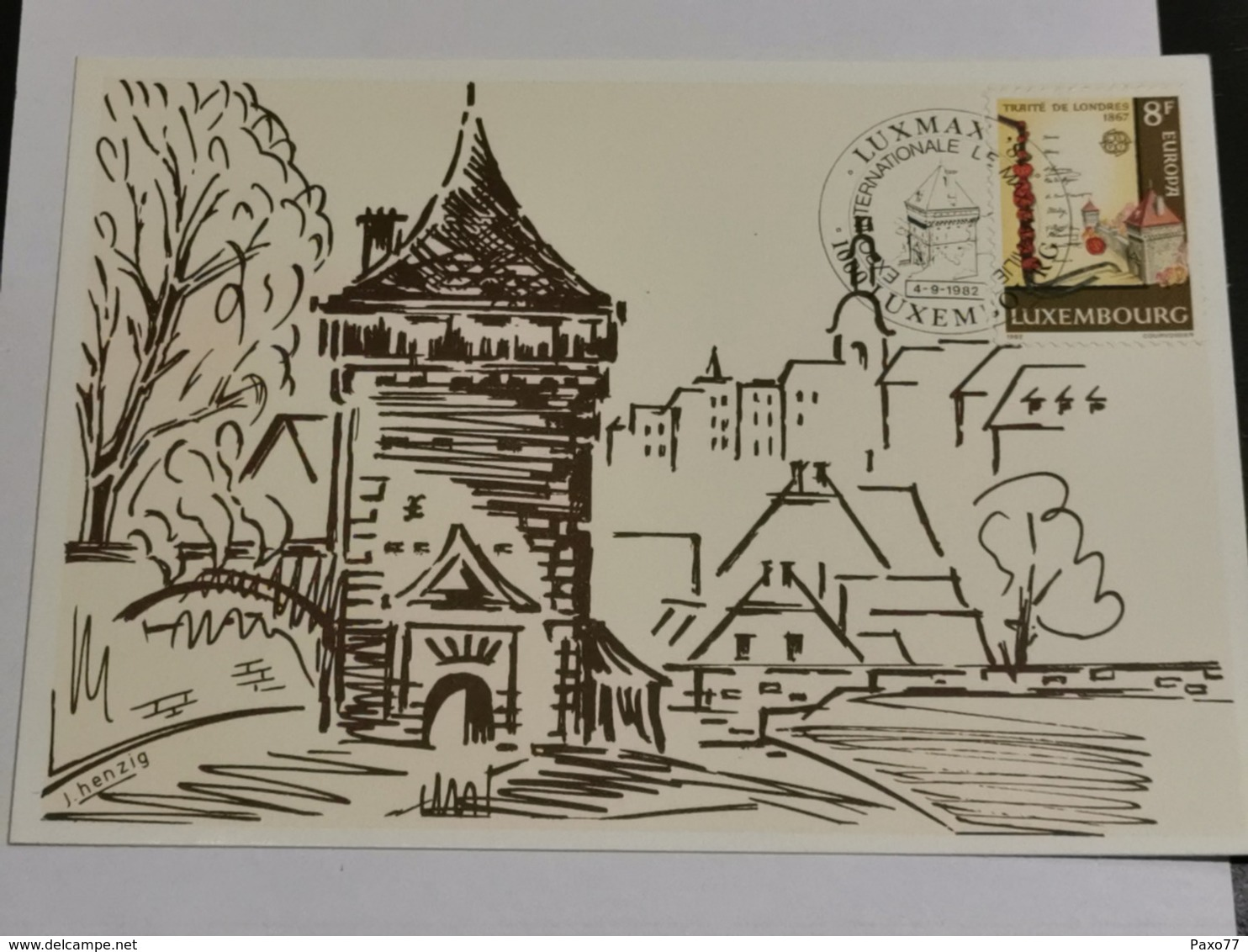 Luxembourg, Tour Vauban, Pfaffenthal - Maximum Cards