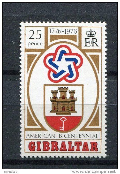 Gibraltar 1976. Yvert 337 ** MNH - Gibilterra