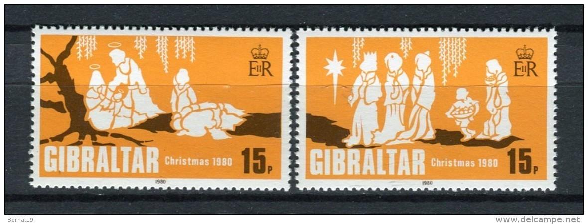 Gibraltar 1980. Yvert 416-17 ** MNH. - Gibilterra