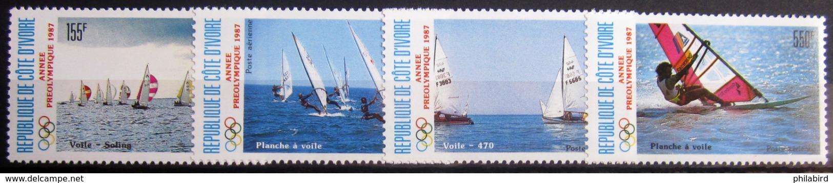COTE D'IVOIRE                   P.A 113/116                    NEUF** - Côte D'Ivoire (1960-...)