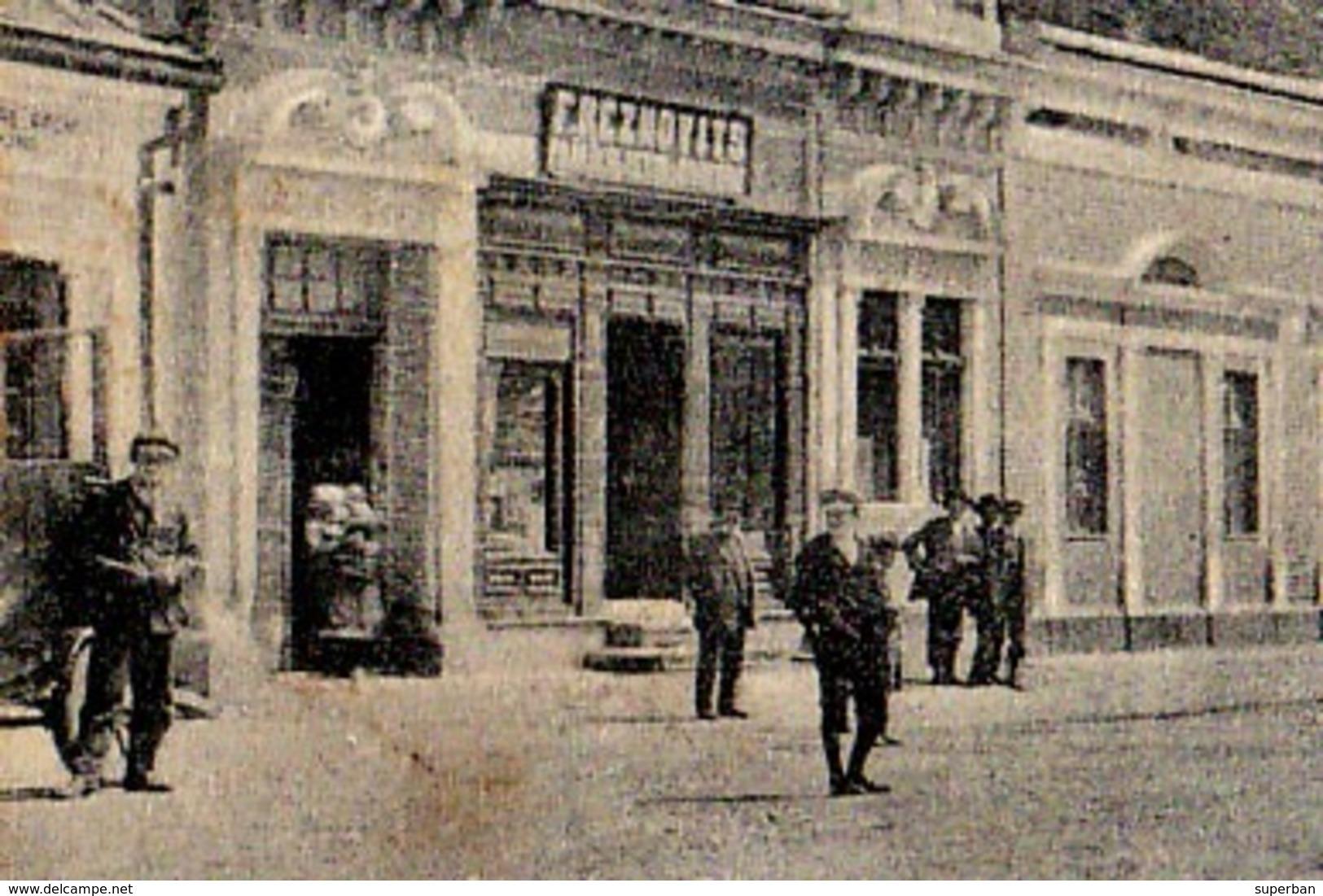 CRASNA / SALAJ : PIATA REGINA MARIA - COMMERCE : F. REZNOVITS [ JUDAÏCA ] - ANNÉE / YEAR : 1928 (ac900) - Roumanie