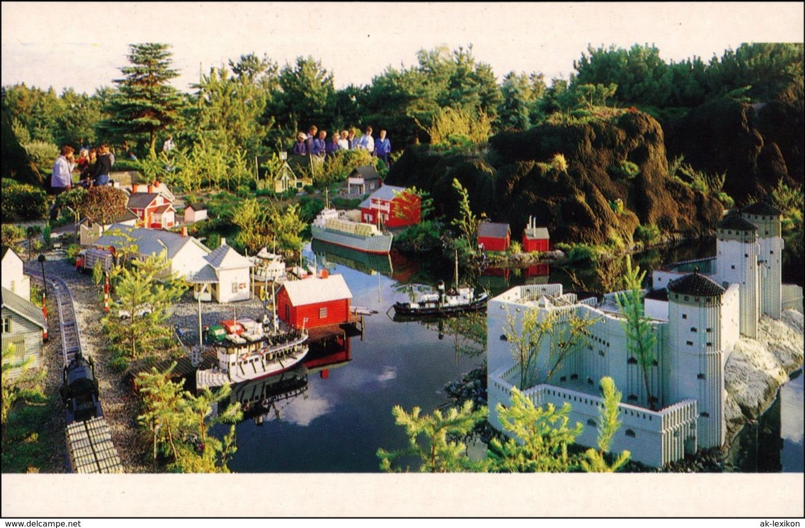 Postcard Billund (Denmark) Legoland Suomi Finland 1989 - Dänemark
