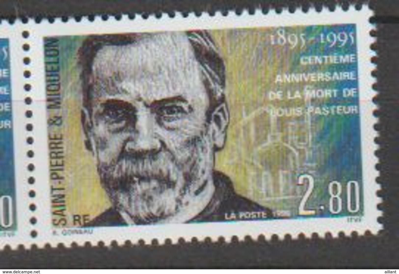 Saint Pierre-et -Miquelon. Louis Pasteur. - Louis Pasteur